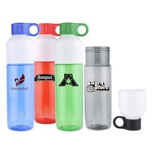 26 Oz. Water Bottle w/ Removable Cup Top